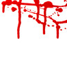 blood flowing splash