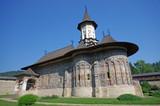 Unesco heritage, Sucevita monastery poster