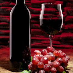 Rotwein Stilleben