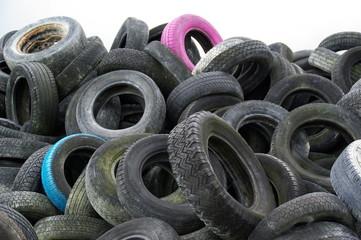 Recyclage de pneus
