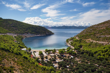 Prapratno bay on Peljesac peninsula, Croatia, Europe