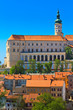 Mikulov (Nikolsburg) castle and town
