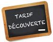 tarif découverte