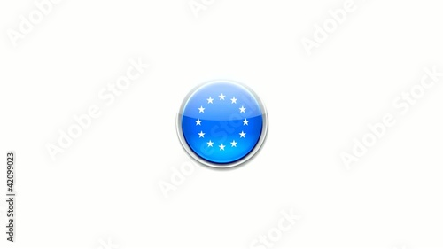 European Union - button
