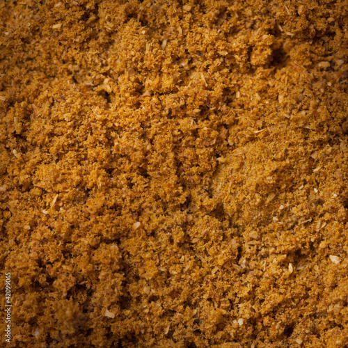 Ground spice mix macro