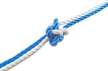Knife lanyard knot