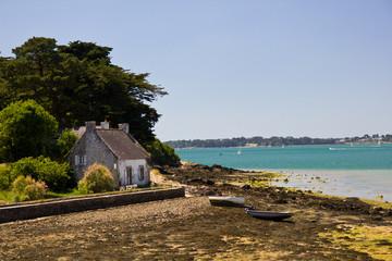 Morbihan Gulf - fisherman house