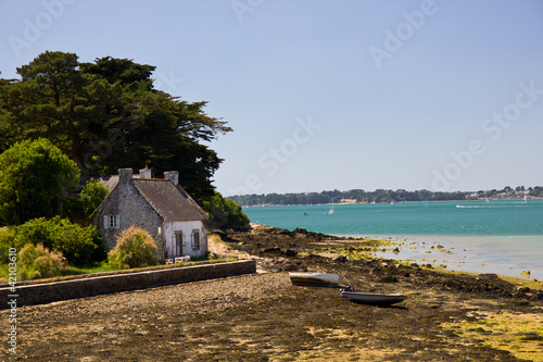Morbihan Gulf - fisherman house