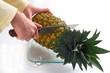 Pineapple cutting