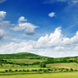 Fototapety Mountainous terrain
