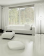 Sofa in Weiß