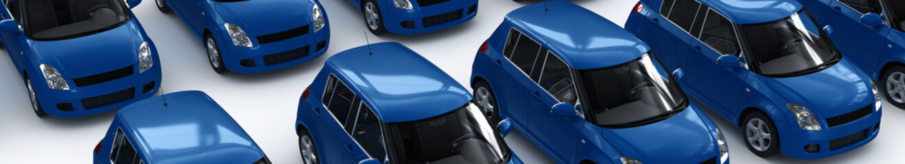 Blue Car Parking II