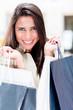 Female shopper