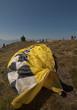 Veil of a Paraglider (Carinthia, Austria)