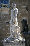 Statue Of Hercules And Caucus, Florence, Italy