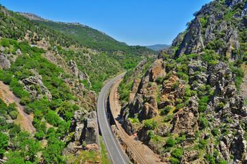 Despenaperros canyon, Spain