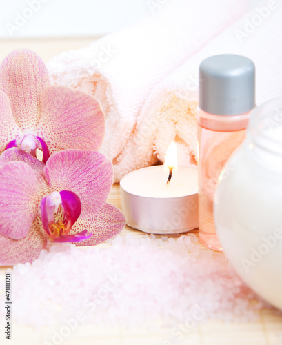 Fototapeten,handtuch,orchidee,treatment,kurort