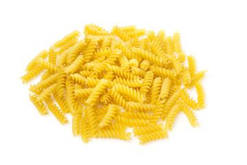 Dry rotini pasta