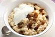 Brown Rice Porridge with Sultanas