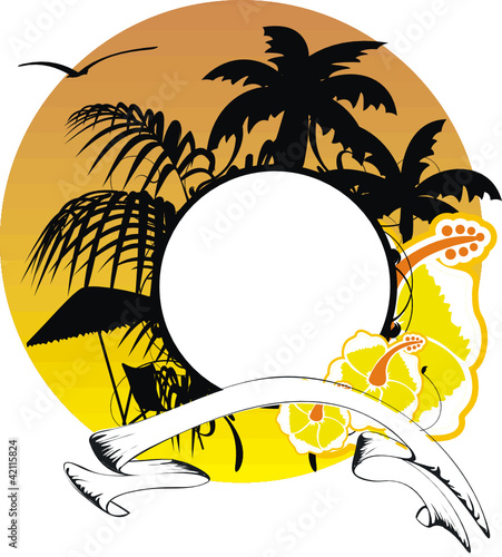hawaiian sticker copyspace1