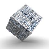 Fototapety Energiespeicher Würfel / Cube
