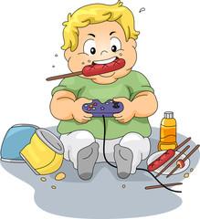 Overweight Gamer