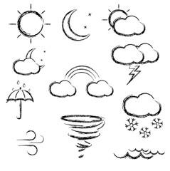 Doodle weather icon