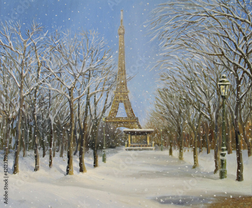 Winter in Paris - 42123219