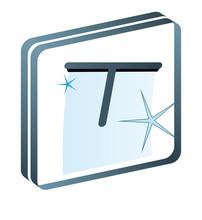 Mycie okien Okno sprzątaczki sprzątanie piktogram