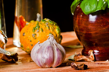 Garlic & other spices