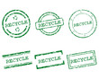 Recycle Stempel