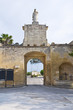 Gate of St. Oronzo. Acaya. Vernole. Puglia.  Italy.