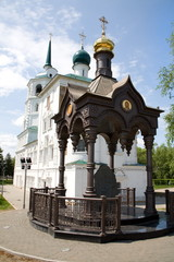 Orthodox Church in Irkutsk