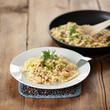 schnelle Küche - Nudeln mit Schinken und Ei
