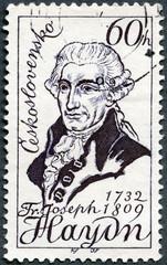 CZECHOSLOVAKIA - 1959: shows Franz Joseph Haydn(1732-1809)