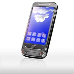 Handy mit Apps