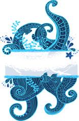 Stylish sea ornament