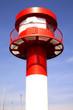 Leuchtturm im Hafen von Eckernförde, Schleswig-Holstein