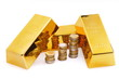 Monnaie et or.