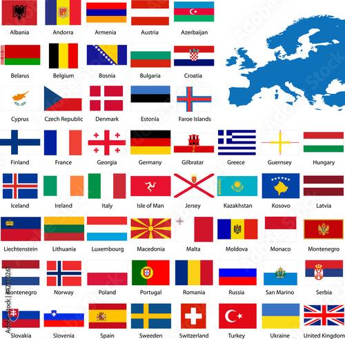 Drapeau europe fichier vectoriel libre de droits sur la banque d - Report de paiement de 3 mois par cb ...