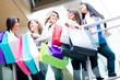Female shoppers