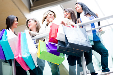 Female shoppers
