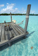 Hammock in tropical jetty