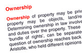 Ownership text highlighted in red poster