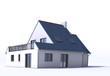 Architecture model, house d