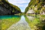Landscapes from the Plitvice natural Park in Croatia