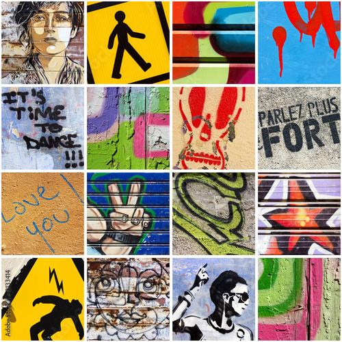 Fototapeten,straße,kunst,straße,graffiti