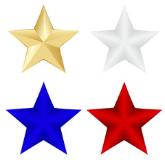 Different colors Star