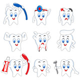 Fototapety Tooth Activity