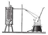 Apparatus for Measuring the Latent Heat of Vaporization of a Liq poster